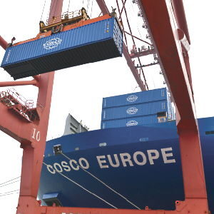 4 Containers Loading | COSCO Customer Care Centre | cosco.ee